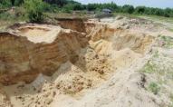 Оштрафували двох волинян, які незаконно видобували пісок