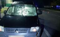 На Волині 19-річний водій на смерть збив чоловіка