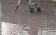 Жителі Шацька скаржаться на затоплення території. ФОТО