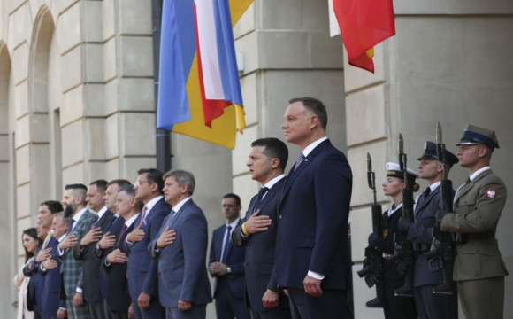 Президент Польщі Анджей Дуда закликав ЄС посилити санкції щодо Росії