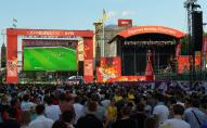 У Луцьку під відкритим небом може з'явитися фан-зона для перегляду матчів Євро-2020