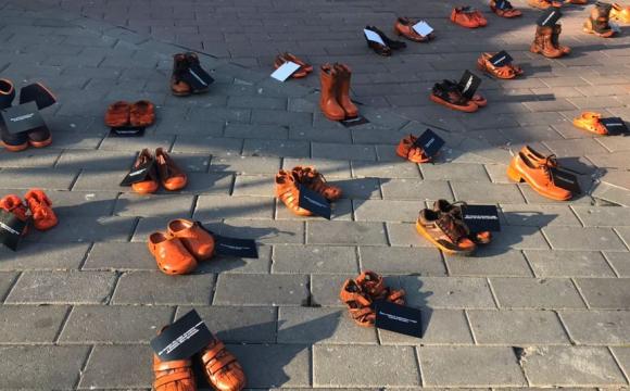 Лучани долучились до акції проти насилля в сім'ї