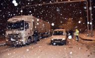 Потужний снігопад паралізував рух у Туреччині. ФОТО