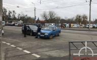 Біля Старого ринку в Луцьку трапилась ДТП. ФОТО