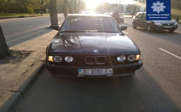 П'яний водій BMW розсікав вулицями Луцька