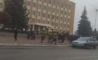 У Нововолинську замінували будівлю міської державної адміністрації. ФОТО