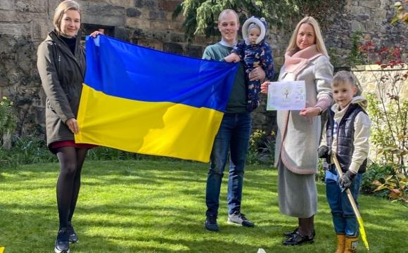Українці висадили в Шотландії калину