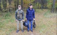 Йшов до Польщі: у лісі на Волині зловили таджика