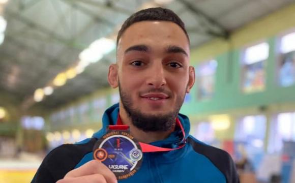 Студент з Луцька став чемпіоном України з панкратіону