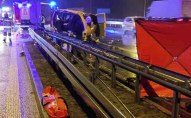 Жахлива аварія автобуса з українцями в Польщі: загинула пасажирка. ФОТО