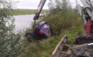 На Сарненщині автомобіль злетів з мосту у річку, водій загинув. ФОТО