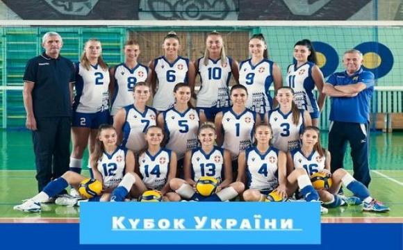 Волинські волейболістки посіли 2 місце у другому етапі Кубку України
