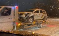 Поліцейська ДТП у Луцьку: Рено патрульних в'їхало у Фольксваген. ФОТО