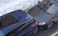 В центрі Луцька зіткнулися 2 автівки. ФОТО