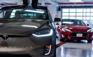На парковці вибухнув Tesla Model 3. ФОТО