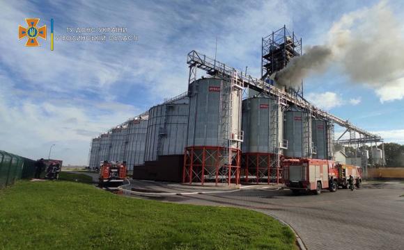 На волинському підприємстві виникла пожежа. ФОТО/ВІДЕО