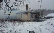 На Рівненщині майже вщент згорів житловий будинок