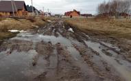 Місто на Волині потопає у багнюці. ФОТО