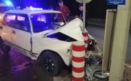 Влаштував аварію, зізнався що п'яний і заснув на місці ДТП. ФОТО