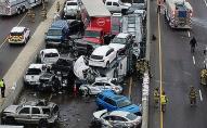 Масова автотроща у США: 133 авто, 6 смертей, 65 травмованих. ФОТО. ВІДЕО