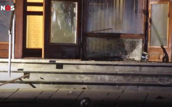 У церкві, після нападу на журналістів, вночі пролунав вибух
