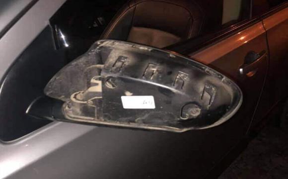 Лучанин пошкодив припарковане авто та втік. ФОТО
