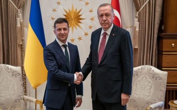 Зеленський і Ердоган віч-на-віч обговорюють ситуацію на Донбасі