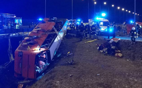 Смертельна аварія в Польщі: пасажири розповіли що було перед ДТП. ВІДЕО