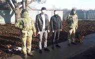 На Волині затримали росіянина та білоруса, які в обхід пункту пропуску йшли в Україну. ФОТО