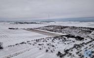 На Волині встановили 120-метрову вишку для вимірювання сили та швидкості вітру. ФОТО