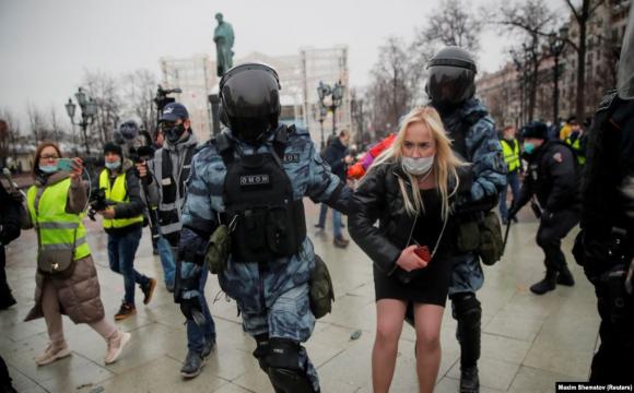 В Росії затримали 195 дітей