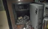 Чоловік підпалив пошту і вкрав 300 тисяч гривень. ФОТО