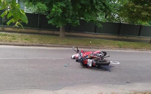 На Волині мотоцикліст врізався у мінівен: травми дуже тяжкі. ФОТО