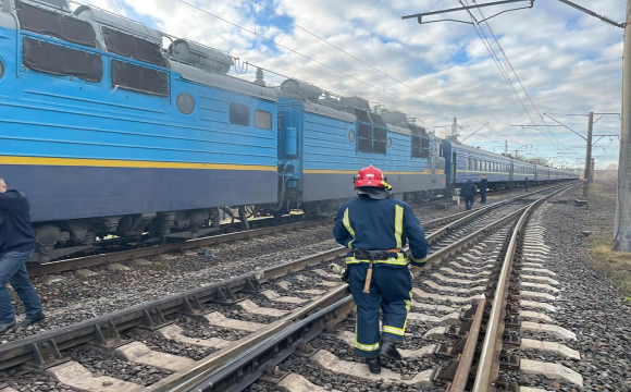 На Рівненщині загорівся потяг, в якому перебували більше 200 пасажирів