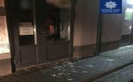 Луцькі патрульні впіймали стікаючого кров'ю грабіжника. ФОТО 18+