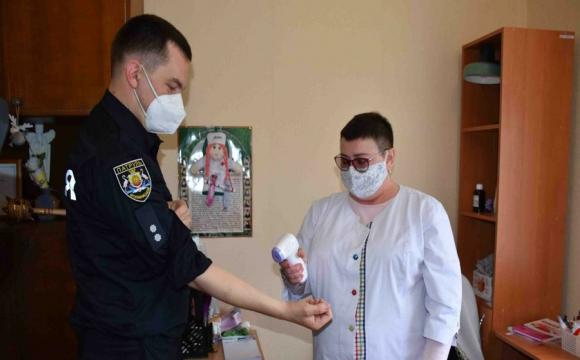 На Волині вакцинують поліцейських