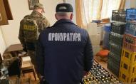 На Львівщині «накрили» цех з виготовлення фальсифікованої горілки