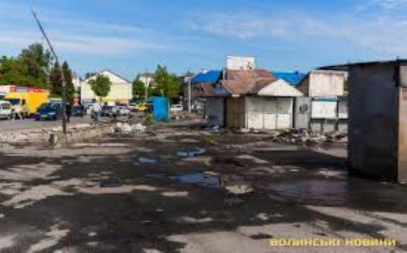 Старий ринок будуть остаточно демонтувати у 2021 році