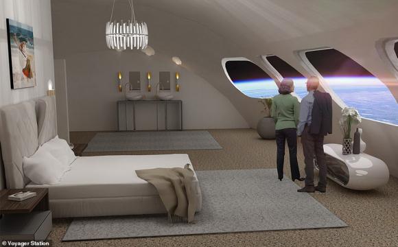 Анонсували будівництво першого космічного готелю. ФОТО