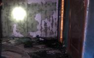 Ймовірно підпал: у багатоповерхівці горіли двері квартири 56-річної жінки. ФОТО