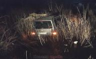 У Ковелі автівка злетіла з траси в кювет. ФОТО