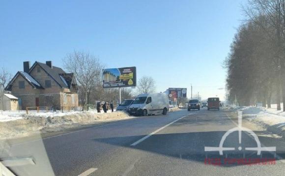 В Луцьку на Володимирській сталася ДТП. ФОТО