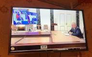 На курорті у Запоріжжі туристам транслюють тільки російські канали. ФОТО