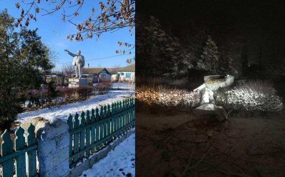 Знесли останній пам'ятник Леніну