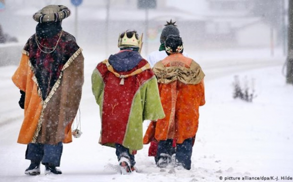 Німецькі колядники цього року збирають гроші для дітей України