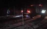 На Волині рятувальники витягли з кюветів 3 автівки. ФОТО