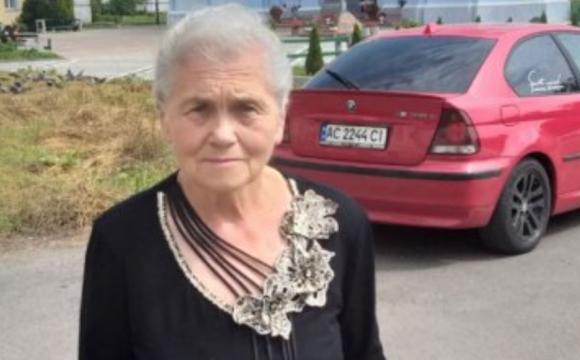 Розшукали волинську пенсіонерку, яка страждала від провалів у пам'яті. ФОТО