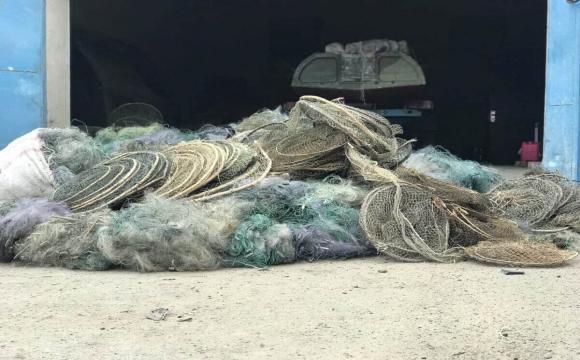 Рубали, ламали, різали: на Волині знищили браконьєрські знаряддя