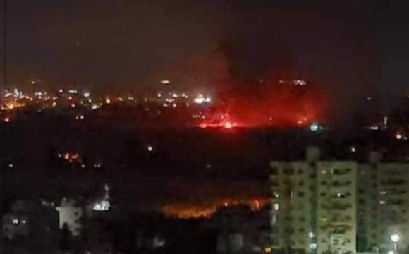 Ізраїль завдав ракетних ударів по околицях Дамаска. ВІДЕО