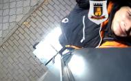 У Луцьку вкрали камеру відеоспостереження: просять впізнати злодія. ВІДЕО